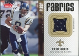 2006 Fleer Fabrics #FFDB Drew Brees