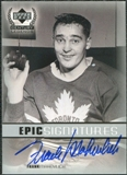 1999/00 Upper Deck Century Legends Epic Signatures #FM Frank Mahovlich Autograph