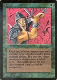 Magic the Gathering Alpha Single Berserk - SLIGHT PLAY (SP)