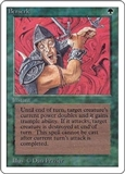 Magic the Gathering Unlimited Single Berserk MODERATE PLAY (VG/EX)