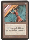 Magic the Gathering Alpha Single Forcefield - MODERATE PLAY (MP)