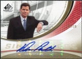 2005/06 Upper Deck SP Game Used SIGnificance #DP Dan Patrick Autograph /10