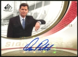 2005/06 Upper Deck SP Game Used SIGnificance #DP Dan Patrick Autograph 10/10