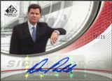 2005/06 Upper Deck SP Game Used SIGnificance #DP Dan Patrick Autograph /25