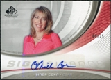 2005/06 Upper Deck SP Game Used SIGnificance #LC Linda Cohn Autograph /25