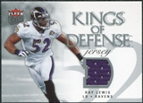2006 Fleer Ultra Kings of Defense Jerseys #KDRL Ray Lewis