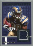 2006 Fleer Hot Prospects Retrospective Jerseys #REIB Isaac Bruce