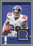 2006 Fleer Hot Prospects Retrospective Jerseys #RESH Jeremy Shockey