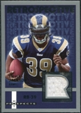 2006 Fleer Hot Prospects Retrospective Jerseys #RESJ Steven Jackson