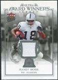 2006 Fleer Ultra Award Winners Jerseys #UAARM Randy Moss