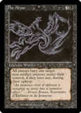 Magic the Gathering Legends Single The Abyss - NEAR MINT (NM)