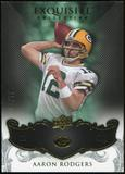 2008 Upper Deck Exquisite Collection #37 Aaron Rodgers /75