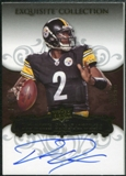 2008 Upper Deck Exquisite Collection #114 Dennis Dixon Autograph /150