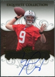 2008 Upper Deck Exquisite Collection #120 Erik Ainge Autograph /150