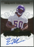 2008 Upper Deck Exquisite Collection #121 Erin Henderson Autograph /150