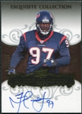 2008 Upper Deck Exquisite Collection #123 Frank Okam Autograph /150