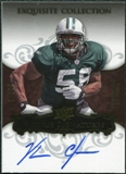 2008 Upper Deck Exquisite Collection #142 Vernon Gholston Autograph /150