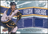 2008/09 Upper Deck Ice Fresh Threads #FTAP Alex Pietrangelo