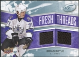2008/09 Upper Deck Ice Fresh Threads #FTBB Brian Boyle