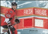 2008/09 Upper Deck Ice Fresh Threads #FTBL Brian Lee