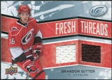 2008/09 Upper Deck Ice Fresh Threads #FTBS Brandon Sutter