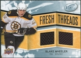 2008/09 Upper Deck Ice Fresh Threads #FTBW Blake Wheeler