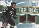 2008/09 Upper Deck Ice Fresh Threads #FTFI Mark Fistric