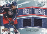 2008/09 Upper Deck Ice Fresh Threads #FTJV Jakub Voracek