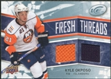 2008/09 Upper Deck Ice Fresh Threads #FTKO Kyle Okposo