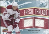 2008/09 Upper Deck Ice Fresh Threads #FTKP Kevin Porter