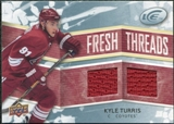 2008/09 Upper Deck Ice Fresh Threads #FTKT Kyle Turris