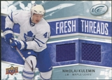 2008/09 Upper Deck Ice Fresh Threads #FTNK Nikolai Kulemin