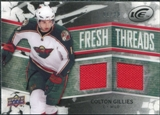 2008/09 Upper Deck Ice Fresh Threads Black Parallel #FTCG Colton Gillies /25