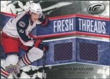 2008/09 Upper Deck Ice Fresh Threads Black Parallel #FTDB Derick Brassard /25