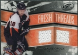 2008/09 Upper Deck Ice Fresh Threads Black Parallel #FTGI Claude Giroux 23/25