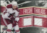 2008/09 Upper Deck Ice Fresh Threads Black Parallel #FTKP Kevin Porter /25