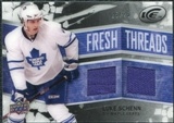 2008/09 Upper Deck Ice Fresh Threads Black Parallel #FTLS Luke Schenn /25