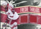 2008/09 Upper Deck Ice Fresh Threads Black Parallel #FTMB Mikkel Boedker /25