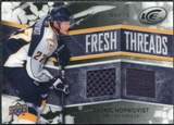 2008/09 Upper Deck Ice Fresh Threads Black Parallel #FTPH Patric Hornqvist /25