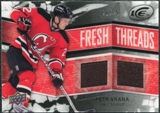 2008/09 Upper Deck Ice Fresh Threads Black Parallel #FTPV Petr Vrana /25