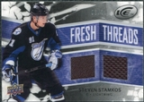 2008/09 Upper Deck Ice Fresh Threads Black Parallel #FTSS Steven Stamkos 8/25