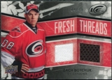 2008/09 Upper Deck Ice Fresh Threads Black Parallel #FTZB Zach Boychuk /25