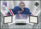 2008/09 Upper Deck Ultimate Collection Ultimate Jerseys #UJHL Henrik Lundqvist /100