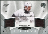2008/09 Upper Deck Ultimate Collection Ultimate Jerseys #UJWG Wayne Gretzky /100