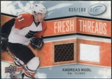 2008/09 Upper Deck Ice Fresh Threads Parallel #FTAN Andreas Nodl /100