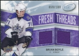 2008/09 Upper Deck Ice Fresh Threads Parallel #FTBB Brian Boyle /100