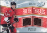 2008/09 Upper Deck Ice Fresh Threads Parallel #FTBL Brian Lee /100