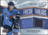 2008/09 Upper Deck Ice Fresh Threads Parallel #FTBO Zach Bogosian /100