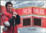 2008/09 Upper Deck Ice Fresh Threads Parallel #FTIZ Ilya Zubov /100