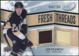 2008/09 Upper Deck Ice Fresh Threads Parallel #FTJF Jon Filewich /100